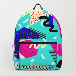 80's / 90's Pattern Backpack