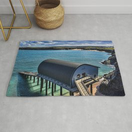 Padstow Lifeboat Station Rug