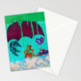 Petrichor (geosmin) Stationery Cards