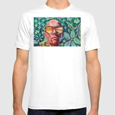 Bad Trip MEDIUM Mens Fitted Tee White