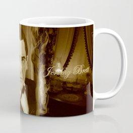 J. Brett as Sherlock Holmes Sepia Coffee Mug