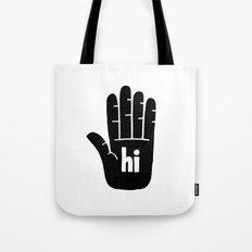 hi five Tote Bag
