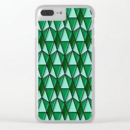Geometrix 170 Clear iPhone Case