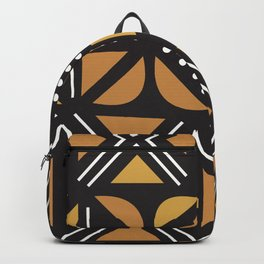 African Tribal Pattern No. 11 Backpack
