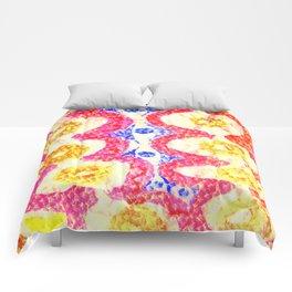 Dumpling girl Comforters