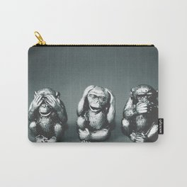 See Hear & Speak No evil Carry-All Pouch