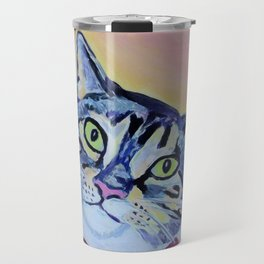 cat in a bow tie Travel Mug