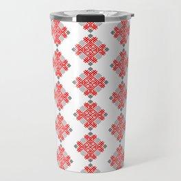 Rodimich - Antlers - Slavic Symbol #2 Travel Mug