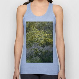 Flowering Acacia Tree Unisex Tank Top