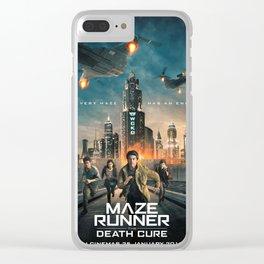 maze runner Clear iPhone Case