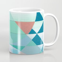 Pyramid Sun Orange Coffee Mug