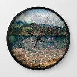 MM 333 . Purple x Mountain Scapes Wall Clock