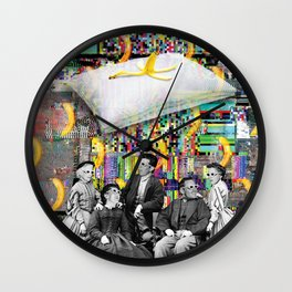 Slippery promise Wall Clock