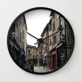 Limoges 1 Wall Clock