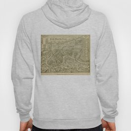 Vintage Map of New Orleans Louisiana (1919) Hoody