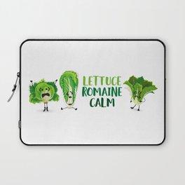 Lettuce Romaine Calm Laptop Sleeve