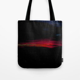 When I Look to the West: A December Sunset #2 (Chicago Sunrise/Sunset Collection) Tote Bag