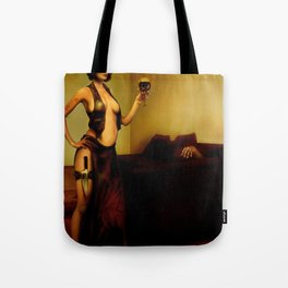 """The bad customer"" Tote Bag"