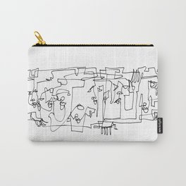 Whispering And Listening Carry-All Pouch