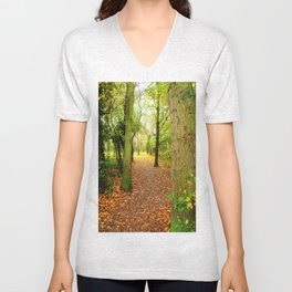 Leaves Lead The Way Unisex V-Neck