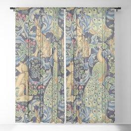 "William Morris ""Forest"" 1. Sheer Curtain"