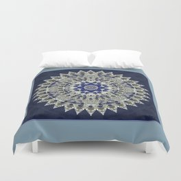 Diamonds and Sapphires Duvet Cover
