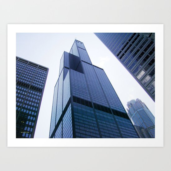 Willis Tower of Chicago Art Print