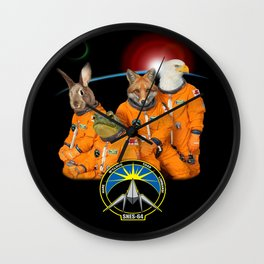 STARFOX - The Lylat Space Program Wall Clock