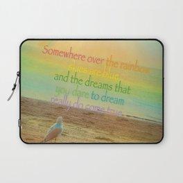 Somewhere Over the Rainbow Laptop Sleeve