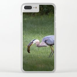 Hungry no more Clear iPhone Case