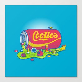 The World has Cooties Canvas Print