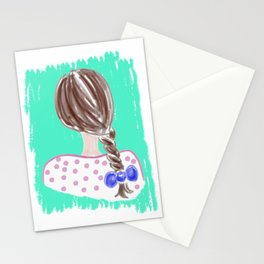 Braid #society6 #buyart Stationery Cards