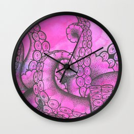 Sweet Tentacles Wall Clock