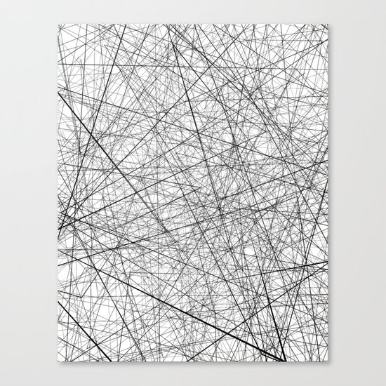 Lineric Canvas Print