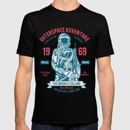 Outer space Adventure - Born to be an astronaut T-shirt