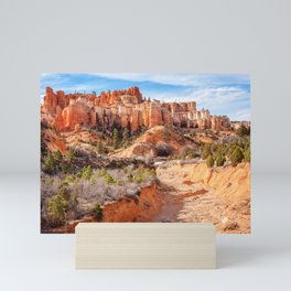 Castle in the sky at Water Canyon Mini Art Print