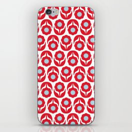 Joy collection - Red flowers iPhone Skin