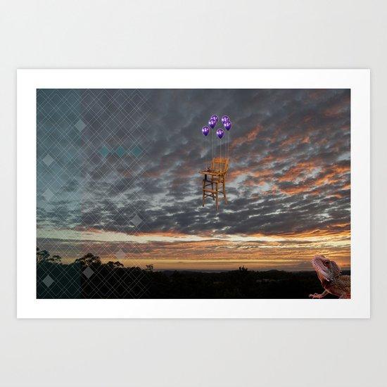lawin + danz Art Print