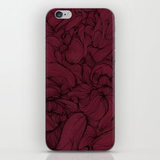 Rose Petal Red iPhone & iPod Skin