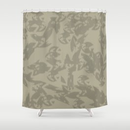 Eagle Taupe Gray Shower Curtain