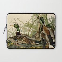 Mallard Ducks Laptop Sleeve