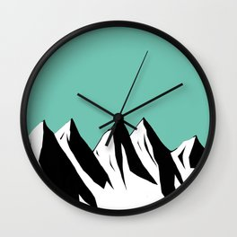 Mountaints Wall Clock