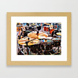 Music Sale Framed Art Print