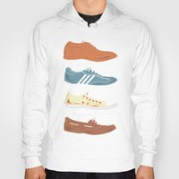 shoes Hoodies featuring Shoes by Things and Other Things