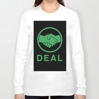 swedish Long Sleeve T-shirts featuring Swedish deal by  kremfresh