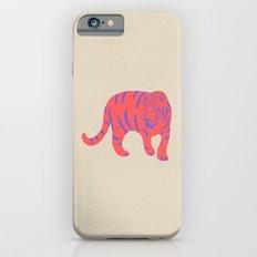 Uzual Tiger, Tiger print, animal print, nursery art Slim Case iPhone 6s