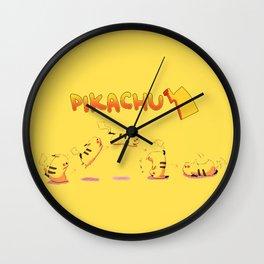 pika moves Wall Clock