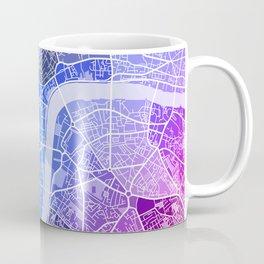 London Map (Colour Gradient) Coffee Mug