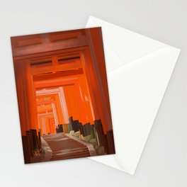Vermillion Stationery Cards
