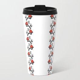 As de Corazones en Línea Travel Mug